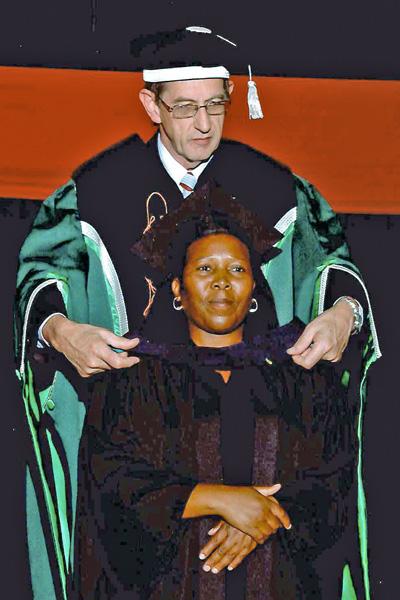 Thembakazi Matyeke graduation